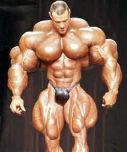 Mann bodybuilder Bodybuilding