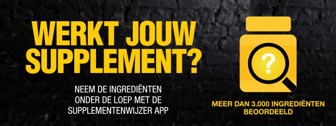 Supplementenwijzer App